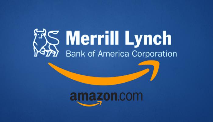 Accordo tra Amazon e Merrill Lynch