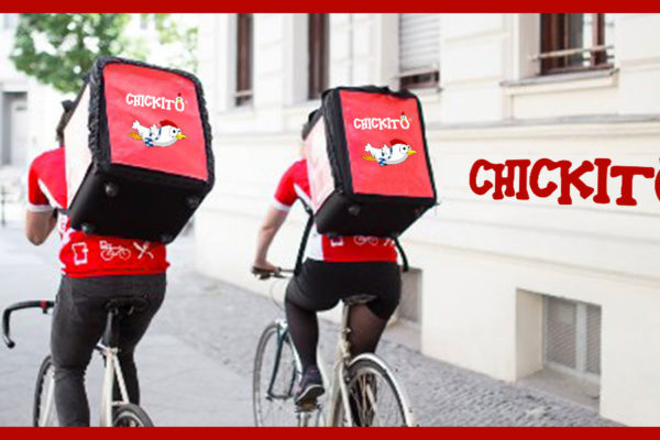 riders drivers food delivery Chickito franchising