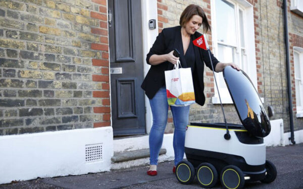 Delivery con drone Just eat