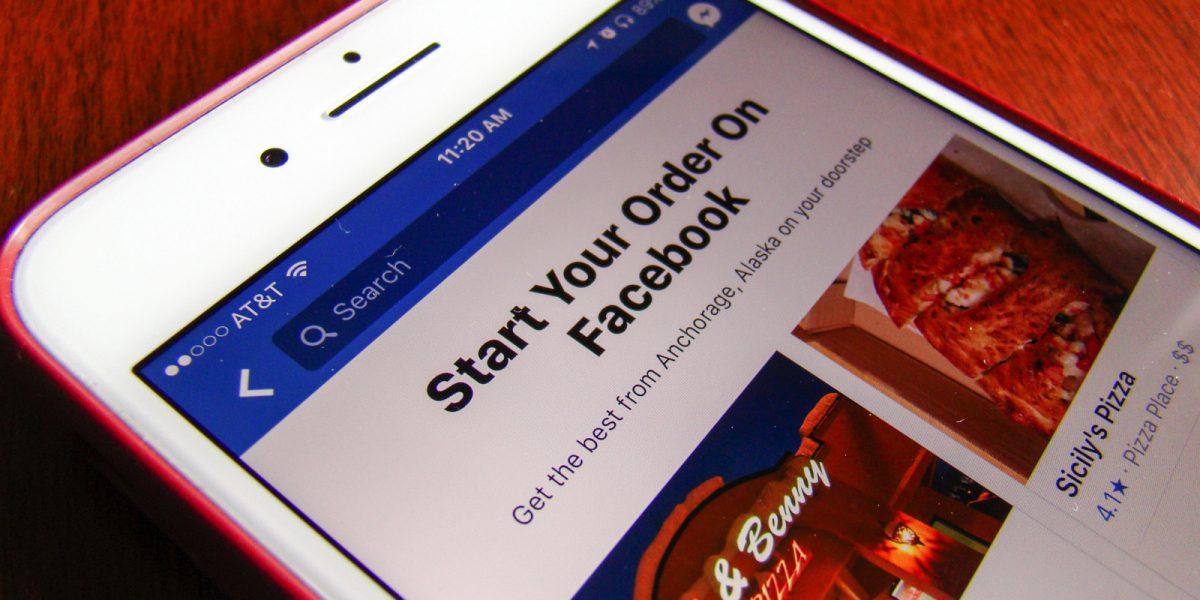 Facebook Messenger sa quando è ora di ordinare a domicilio grazie ad una nuova funzione
