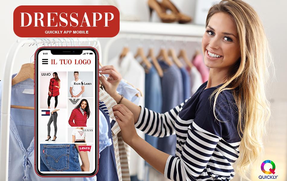 app abbigliamento online