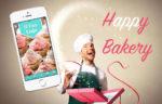 happy bakery applicazione per pasticceria
