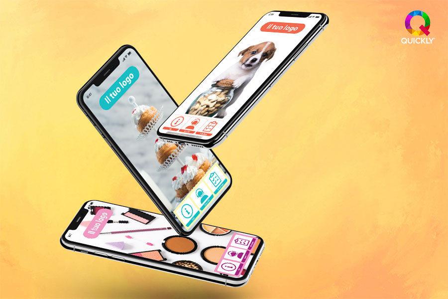 app mobile per negozio online quickly international